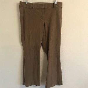 Loft brown Julie Trouser straight leg Size 18